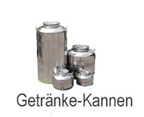 Getränke-Kannen (Transport-Kanne für Milch, Schnaps, Saft etc)