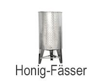 Edelstahl Honig-Fass / Honig-Tank