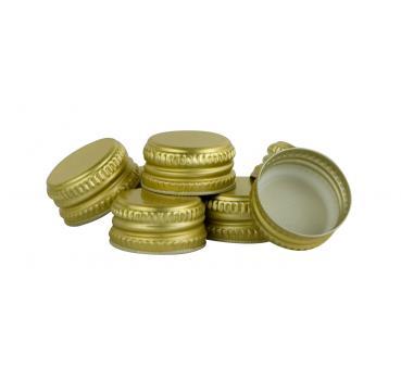 flaschen hand schraubverschl sse metall gold farben 250 st ck kellereitechnik lagerverkauf. Black Bedroom Furniture Sets. Home Design Ideas