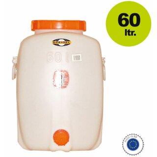 Speidel Getränkefass Rund 20 Liter Mit Auslaufhahn NW 15 incl Gärspund