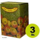 Bag in Box: Karton, Motiv Apfel 3 Liter (*Staffelpreise...