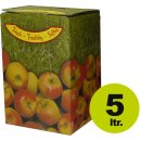Bag in Box:  Karton, Motiv Apfel 5 Liter